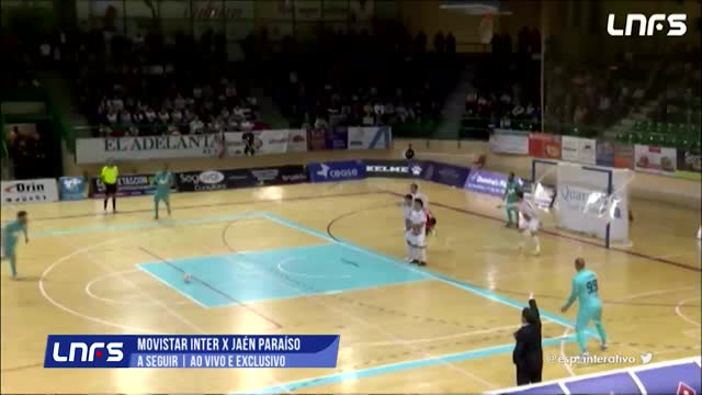 Movistar Inter x Jaén P. Interior - Liga Espanhola de Futsal - 28ª Rodada
