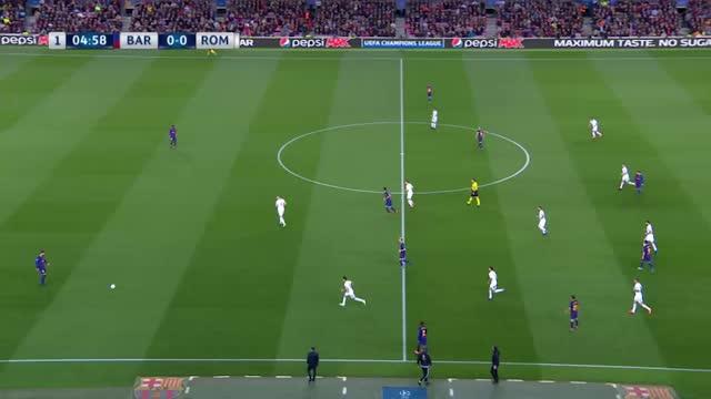 Barcelona x Roma - Liga dos Campeões - Quartas de Final - Ida