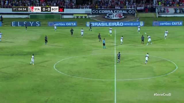 Santa Cruz x Botafogo PB - Série C - 6ª Rodada