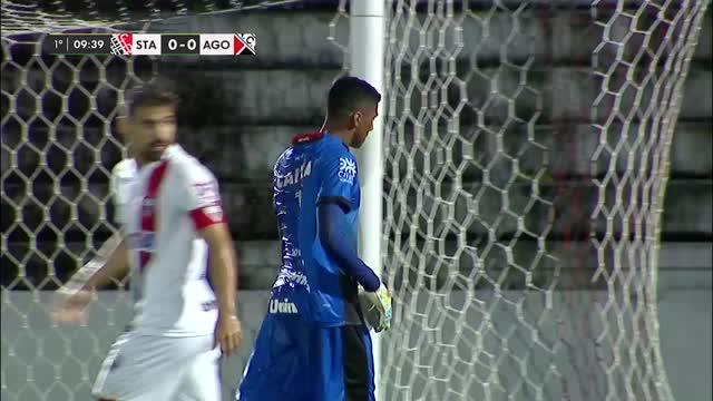 Santa Cruz x Atlético GO - Brasileirão de Aspirantes - 2ª Rodada