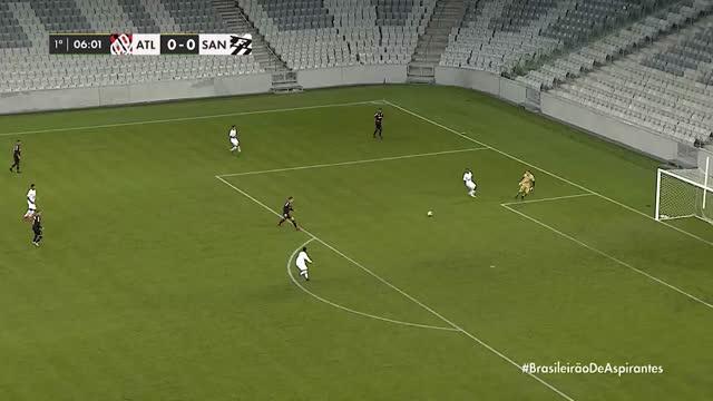 Atlético PR x Santos - Brasileirão de Aspirantes - 1ª Rodada