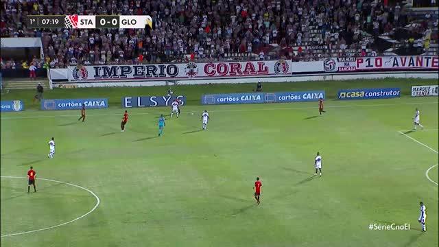 Santa Cruz x Globo - Campeonato Brasileiro - Série C - 14ª Rodada