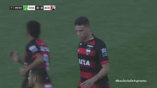 Chapecoense x Atlético Go - Campeonato Brasileiro de Aspirantes - 4ª Rodada