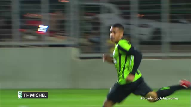 América MG x Santa Cruz - Campeonato Brasileiro de Aspirantes - 4ª Rodada