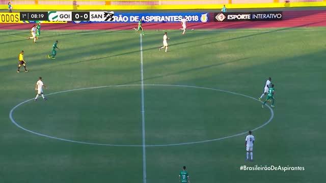 Goias x Santos - Campeonato Brasileiro de Aspirantes - 4ª Rodada