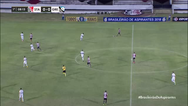 Santa Cruz x Grêmio - Brasileirão de Aspirantes - 5ª Rodada