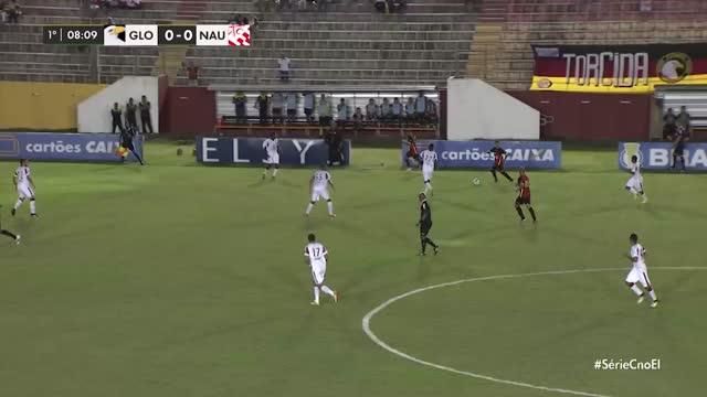 Globo x Náutico - Campeonato Brasileiro Série C - 16ª Rodada
