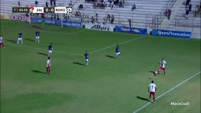 Salgueiro x Remo - Campeonato Brasileiro - Série C - 17ª Rodada