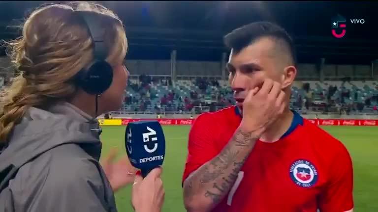 Gary Medel fue autocrítico tras la derrota de Chile ante