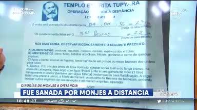 Conoce La Carta De Respuesta De Monjes Sanadores De Brasil Chilevisión