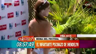 2a75bba57263 Los mejores piscinazos de las Reinas de Viña del Mar - Chilevisión